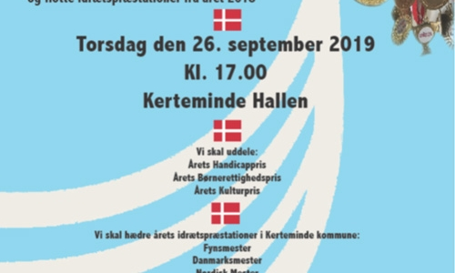 Invitation til hædringsarrangement