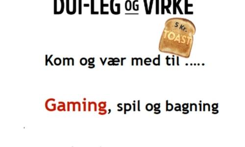 Kom og vær med til Gaming, spil og bagning